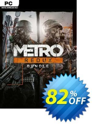 Metro Redux Bundle PC (EU) discount coupon Metro Redux Bundle PC (EU) Deal 2021 CDkeys - Metro Redux Bundle PC (EU) Exclusive Sale offer for iVoicesoft