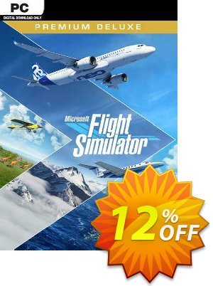 Microsoft Flight Simulator Premium Deluxe PC (Steam) discount coupon Microsoft Flight Simulator Premium Deluxe PC (Steam) Deal 2021 CDkeys - Microsoft Flight Simulator Premium Deluxe PC (Steam) Exclusive Sale offer for iVoicesoft
