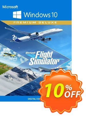 Microsoft Flight Simulator Premium Deluxe - Windows 10 PC (US) discount coupon Microsoft Flight Simulator Premium Deluxe - Windows 10 PC (US) Deal 2021 CDkeys - Microsoft Flight Simulator Premium Deluxe - Windows 10 PC (US) Exclusive Sale offer for iVoicesoft