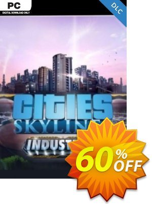 Cities Skylines PC - Industries DLC discount coupon Cities Skylines PC - Industries DLC Deal - Cities Skylines PC - Industries DLC Exclusive offer for iVoicesoft