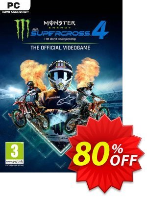 Monster Energy Supercross: The Official Videogame 4 PC discount coupon Monster Energy Supercross: The Official Videogame 4 PC Deal 2021 CDkeys - Monster Energy Supercross: The Official Videogame 4 PC Exclusive Sale offer for iVoicesoft