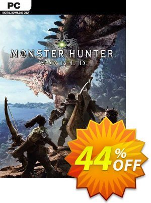 Monster Hunter World PC (EU) discount coupon Monster Hunter World PC (EU) Deal 2021 CDkeys - Monster Hunter World PC (EU) Exclusive Sale offer for iVoicesoft