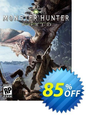 Monster Hunter World PC discount coupon Monster Hunter World PC Deal 2021 CDkeys - Monster Hunter World PC Exclusive Sale offer for iVoicesoft