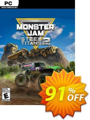 Monster Jam Steel Titans 2 PC discount coupon Monster Jam Steel Titans 2 PC Deal 2021 CDkeys - Monster Jam Steel Titans 2 PC Exclusive Sale offer for iVoicesoft
