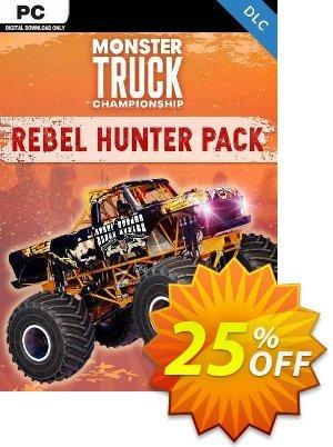 Monster Truck Championship Rebel Hunter Pack PC - DLC discount coupon Monster Truck Championship Rebel Hunter Pack PC - DLC Deal 2021 CDkeys - Monster Truck Championship Rebel Hunter Pack PC - DLC Exclusive Sale offer for iVoicesoft