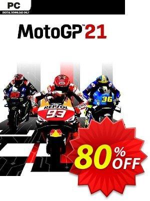 MotoGP 21 PC Coupon, discount MotoGP 21 PC Deal 2021 CDkeys. Promotion: MotoGP 21 PC Exclusive Sale offer for iVoicesoft