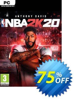 NBA 2K20 PC (EU) discount coupon NBA 2K20 PC (EU) Deal 2021 CDkeys - NBA 2K20 PC (EU) Exclusive Sale offer for iVoicesoft
