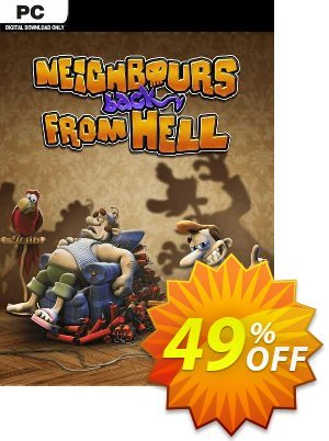 Neighbours back From Hell PC 優惠券,折扣碼 Neighbours back From Hell PC Deal 2021 CDkeys,促銷代碼: Neighbours back From Hell PC Exclusive Sale offer for iVoicesoft