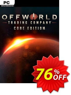 Offworld Trading Company Core Edition PC discount coupon Offworld Trading Company Core Edition PC Deal 2021 CDkeys - Offworld Trading Company Core Edition PC Exclusive Sale offer for iVoicesoft