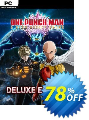 One Punch Man: A Hero Nobody Knows - Deluxe Edition PC (EU) discount coupon One Punch Man: A Hero Nobody Knows - Deluxe Edition PC (EU) Deal 2021 CDkeys - One Punch Man: A Hero Nobody Knows - Deluxe Edition PC (EU) Exclusive Sale offer for iVoicesoft