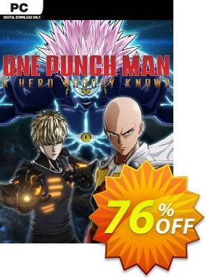 One Punch Man A Hero Nobody Knows PC (EU) discount coupon One Punch Man A Hero Nobody Knows PC (EU) Deal 2021 CDkeys - One Punch Man A Hero Nobody Knows PC (EU) Exclusive Sale offer for iVoicesoft