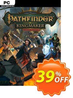 Pathfinder Kingmaker Enhanced Plus Edition PC discount coupon Pathfinder Kingmaker Enhanced Plus Edition PC Deal 2021 CDkeys - Pathfinder Kingmaker Enhanced Plus Edition PC Exclusive Sale offer for iVoicesoft