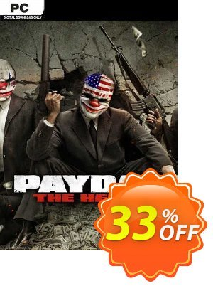Payday The Heist PC discount coupon Payday The Heist PC Deal 2021 CDkeys - Payday The Heist PC Exclusive Sale offer for iVoicesoft