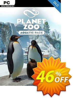 Planet Zoo: Aquatic Pack PC - DLC discount coupon Planet Zoo: Aquatic Pack PC - DLC Deal 2021 CDkeys - Planet Zoo: Aquatic Pack PC - DLC Exclusive Sale offer for iVoicesoft