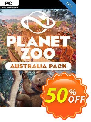 Planet Zoo: Australia Pack PC - DLC discount coupon Planet Zoo: Australia Pack PC - DLC Deal 2021 CDkeys - Planet Zoo: Australia Pack PC - DLC Exclusive Sale offer for iVoicesoft