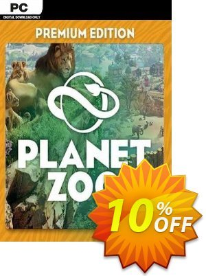 Planet Zoo: Premium Edition PC discount coupon Planet Zoo: Premium Edition PC Deal 2021 CDkeys - Planet Zoo: Premium Edition PC Exclusive Sale offer for iVoicesoft