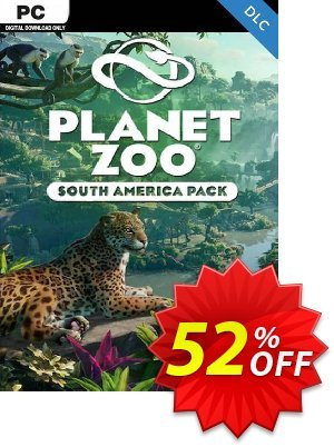 Planet Zoo: South America Pack PC - DLC discount coupon Planet Zoo: South America Pack PC - DLC Deal 2021 CDkeys - Planet Zoo: South America Pack PC - DLC Exclusive Sale offer for iVoicesoft