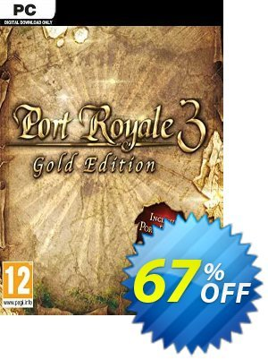 Port Royale 3 GOLD PC discount coupon Port Royale 3 GOLD PC Deal 2021 CDkeys - Port Royale 3 GOLD PC Exclusive Sale offer for iVoicesoft
