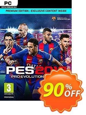 Pro Evolution Soccer 2018 Premium Edition PC (EU) discount coupon Pro Evolution Soccer 2018 Premium Edition PC (EU) Deal 2021 CDkeys - Pro Evolution Soccer 2018 Premium Edition PC (EU) Exclusive Sale offer for iVoicesoft
