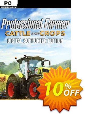 Professional Farmer: Cattle and Crops - Digital Supporter Edition PC discount coupon Professional Farmer: Cattle and Crops - Digital Supporter Edition PC Deal 2021 CDkeys - Professional Farmer: Cattle and Crops - Digital Supporter Edition PC Exclusive Sale offer for iVoicesoft