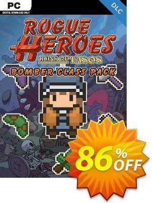 Rogue Heroes Ruins of Tasos Bomber Class Pack PC - DLC discount coupon Rogue Heroes Ruins of Tasos Bomber Class Pack PC - DLC Deal 2021 CDkeys - Rogue Heroes Ruins of Tasos Bomber Class Pack PC - DLC Exclusive Sale offer for iVoicesoft
