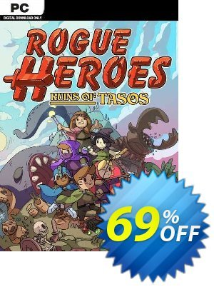 Rogue Heroes: Ruins of Tasos PC 優惠券,折扣碼 Rogue Heroes: Ruins of Tasos PC Deal 2021 CDkeys,促銷代碼: Rogue Heroes: Ruins of Tasos PC Exclusive Sale offer for iVoicesoft