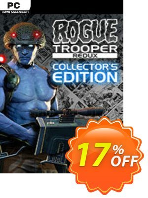 Rogue Trooper Redux Collectors Edition PC discount coupon Rogue Trooper Redux Collectors Edition PC Deal 2021 CDkeys - Rogue Trooper Redux Collectors Edition PC Exclusive Sale offer for iVoicesoft