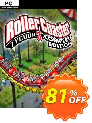 RollerCoaster Tycoon 3: Complete Edition PC discount coupon RollerCoaster Tycoon 3: Complete Edition PC Deal 2021 CDkeys - RollerCoaster Tycoon 3: Complete Edition PC Exclusive Sale offer for iVoicesoft