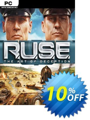 R.U.S.E PC discount coupon R.U.S.E PC Deal 2021 CDkeys - R.U.S.E PC Exclusive Sale offer for iVoicesoft