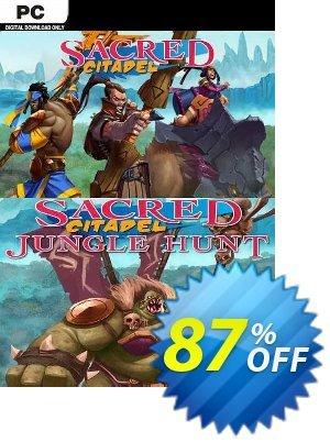 Sacred Citadel PC + Jungle Hunt DLC discount coupon Sacred Citadel PC + Jungle Hunt DLC Deal 2021 CDkeys - Sacred Citadel PC + Jungle Hunt DLC Exclusive Sale offer for iVoicesoft