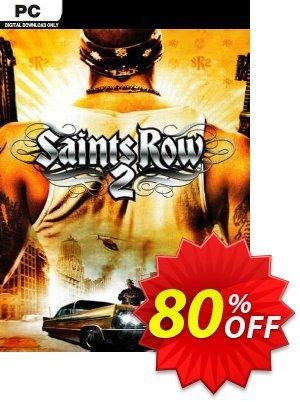 Saints Row 2 PC discount coupon Saints Row 2 PC Deal 2021 CDkeys - Saints Row 2 PC Exclusive Sale offer for iVoicesoft