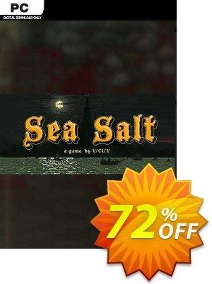 Sea Salt PC 優惠券,折扣碼 Sea Salt PC Deal 2021 CDkeys,促銷代碼: Sea Salt PC Exclusive Sale offer for iVoicesoft