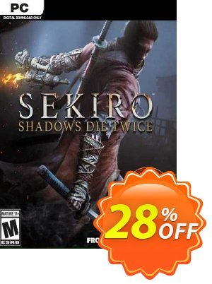 Sekiro: Shadows Die Twice - GOTY Edition PC (EU) discount coupon Sekiro: Shadows Die Twice - GOTY Edition PC (EU) Deal 2021 CDkeys - Sekiro: Shadows Die Twice - GOTY Edition PC (EU) Exclusive Sale offer for iVoicesoft