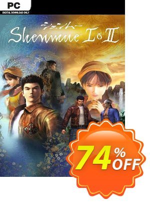 Shenmue I & II PC (EU) discount coupon Shenmue I & II PC (EU) Deal 2021 CDkeys - Shenmue I & II PC (EU) Exclusive Sale offer for iVoicesoft