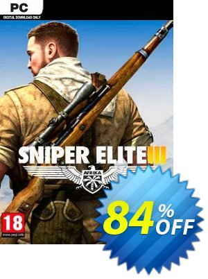 Sniper Elite 3 PC (EU) discount coupon Sniper Elite 3 PC (EU) Deal 2021 CDkeys - Sniper Elite 3 PC (EU) Exclusive Sale offer for iVoicesoft