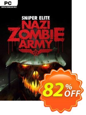 Sniper Elite Nazi Zombie Army PC discount coupon Sniper Elite Nazi Zombie Army PC Deal 2021 CDkeys - Sniper Elite Nazi Zombie Army PC Exclusive Sale offer for iVoicesoft