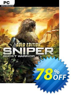 Sniper Ghost Warrior Gold Edition PC discount coupon Sniper Ghost Warrior Gold Edition PC Deal 2021 CDkeys - Sniper Ghost Warrior Gold Edition PC Exclusive Sale offer for iVoicesoft