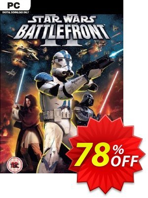 Star Wars Battlefront 2 (Classic, 2005) PC discount coupon Star Wars Battlefront 2 (Classic, 2005) PC Deal 2021 CDkeys - Star Wars Battlefront 2 (Classic, 2005) PC Exclusive Sale offer for iVoicesoft