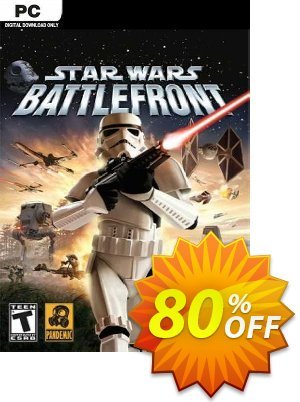 STAR WARS Battlefront (Classic, 2004) (PC) discount coupon STAR WARS Battlefront (Classic, 2004) (PC) Deal 2021 CDkeys - STAR WARS Battlefront (Classic, 2004) (PC) Exclusive Sale offer for iVoicesoft