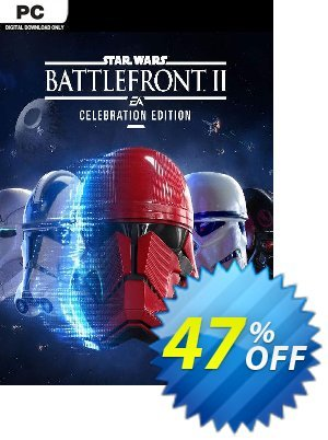 Star Wars Battlefront II 2 - Celebration Edition PC (EN) discount coupon Star Wars Battlefront II 2 - Celebration Edition PC (EN) Deal 2021 CDkeys - Star Wars Battlefront II 2 - Celebration Edition PC (EN) Exclusive Sale offer for iVoicesoft