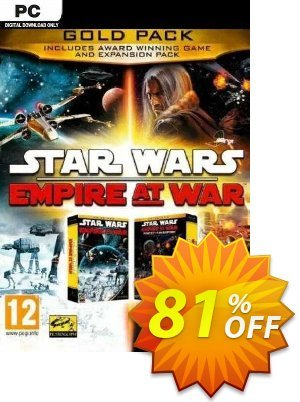 STAR WARS Empire at War - Gold Pack PC discount coupon STAR WARS Empire at War - Gold Pack PC Deal 2021 CDkeys - STAR WARS Empire at War - Gold Pack PC Exclusive Sale offer for iVoicesoft