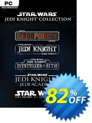 Star Wars Jedi Knight Collection PC discount coupon Star Wars Jedi Knight Collection PC Deal 2021 CDkeys - Star Wars Jedi Knight Collection PC Exclusive Sale offer for iVoicesoft