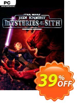 STAR WARS Jedi Knight - Mysteries of the Sith PC discount coupon STAR WARS Jedi Knight - Mysteries of the Sith PC Deal 2021 CDkeys - STAR WARS Jedi Knight - Mysteries of the Sith PC Exclusive Sale offer for iVoicesoft