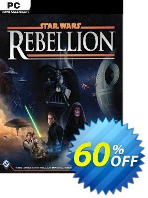 STAR WARS Rebellion PC discount coupon STAR WARS Rebellion PC Deal 2021 CDkeys - STAR WARS Rebellion PC Exclusive Sale offer for iVoicesoft