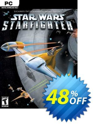 Star Wars Starfighter PC discount coupon Star Wars Starfighter PC Deal 2021 CDkeys - Star Wars Starfighter PC Exclusive Sale offer for iVoicesoft