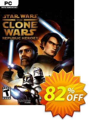 Star Wars The Clone Wars Republic Heroes PC discount coupon Star Wars The Clone Wars Republic Heroes PC Deal 2021 CDkeys - Star Wars The Clone Wars Republic Heroes PC Exclusive Sale offer for iVoicesoft