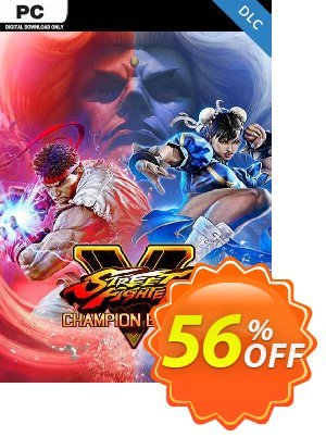 Street Fighter V 5 PC - Champion Edition Upgrade Kit DLC (WW) discount coupon Street Fighter V 5 PC - Champion Edition Upgrade Kit DLC (WW) Deal 2021 CDkeys - Street Fighter V 5 PC - Champion Edition Upgrade Kit DLC (WW) Exclusive Sale offer for iVoicesoft