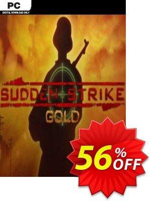 Sudden Strike Gold PC Coupon discount Sudden Strike Gold PC Deal 2021 CDkeys