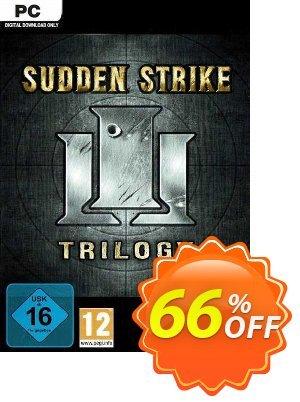 Sudden Strike Trilogy PC Coupon discount Sudden Strike Trilogy PC Deal 2021 CDkeys