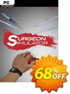 Surgeon Simulator PC Coupon discount Surgeon Simulator PC Deal 2021 CDkeys
